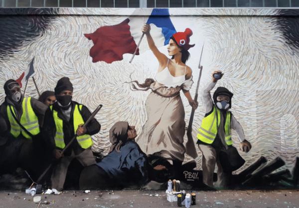 Pascal BOYART, La liberté guidant le peuple.